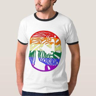 GLBT Pride Mythical God Ringer T-Shirt