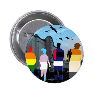 GLBT Pride People in the Castro Button