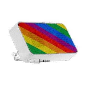GLBT Pride Stripes 2 Travel Speaker