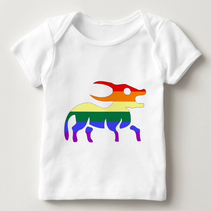 GLBT Pride:  Taurus, April 21 - May 21 Baby T-Shirt