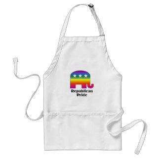 GLBT Republican Pride (2) Adult Apron