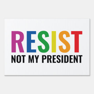 Glbt Resist Sign