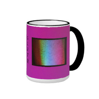 GLBTQ with LED Wash Lighting Ringer Mug