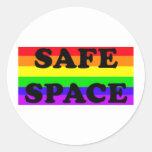 GLBTQA Safe Space Sticker