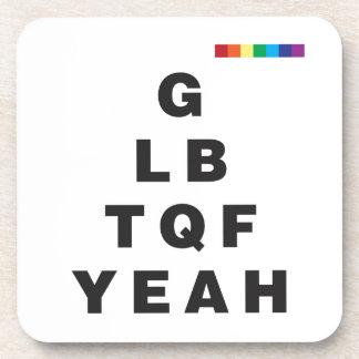 ¡GLBTQF sí! Posavaso