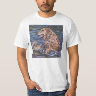 Glden Retriever Fine art t shirt