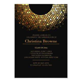 """Gleaming Grad Invitation 5"""" X 7"""" Invitation Card"""