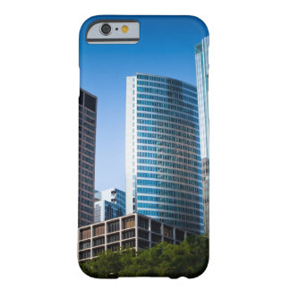 Gleaming skyscrapers in Chicago's financial Barely There iPhone 6 Case