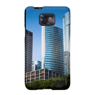 Gleaming skyscrapers in Chicago's financial Samsung Galaxy S Covers