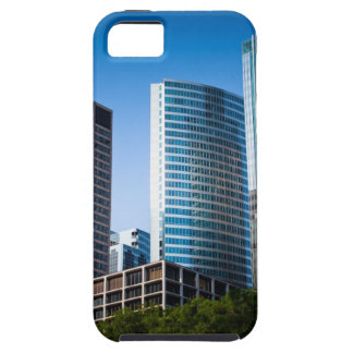 Gleaming skyscrapers in Chicago's financial iPhone 5 Cases