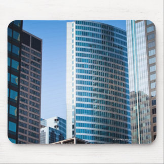 Gleaming skyscrapers in Chicago's financial Mouse Pad