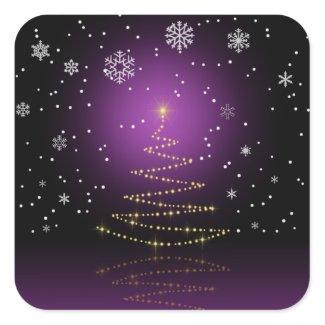 Gleamy and Snowy Christmas - Sticker