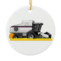 Gleaner Ceramic Ornament