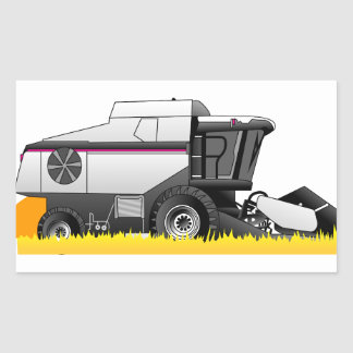 Gleaner Rectangular Sticker