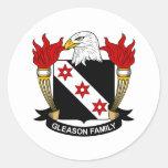 Gleason Family Crest Sticker