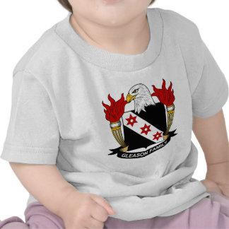 Gleason Family Crest T Shirt