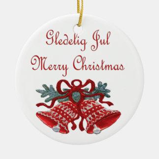 Gledelig Jul Ornaments