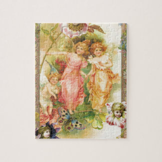 Glee - Angels and Flowers Jigsaw Puzzle