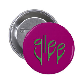 glee club pinback button