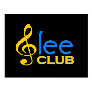 Glee Club Postcard