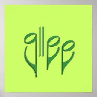 glee club poster