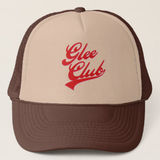 Glee Club (swoosh) Trucker Hat