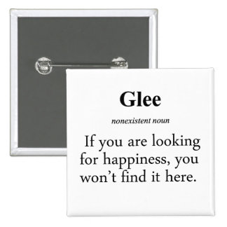 Glee Definition Buttons