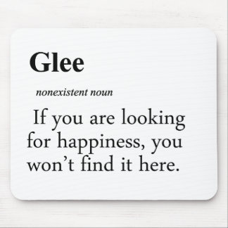 Glee Definition Mouse Pad