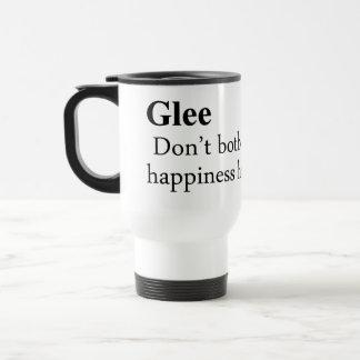 Glee Definition 15 Oz Stainless Steel Travel Mug