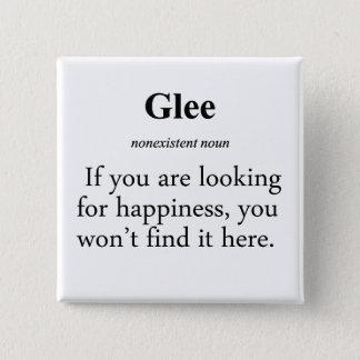 Glee Definition Pinback Button