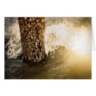 Glee! The great storm is over! Greeting Card