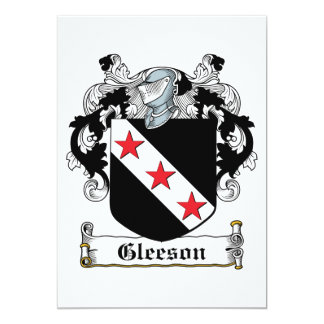 Gleeson Family Crest Card