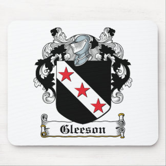 Gleeson Family Crest Mouse Pads