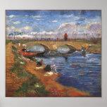 Gleize Bridge, Vigueirat Canal Van Gogh Fine Art Poster