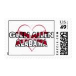 Glen Allen, Alabama Postage Stamp