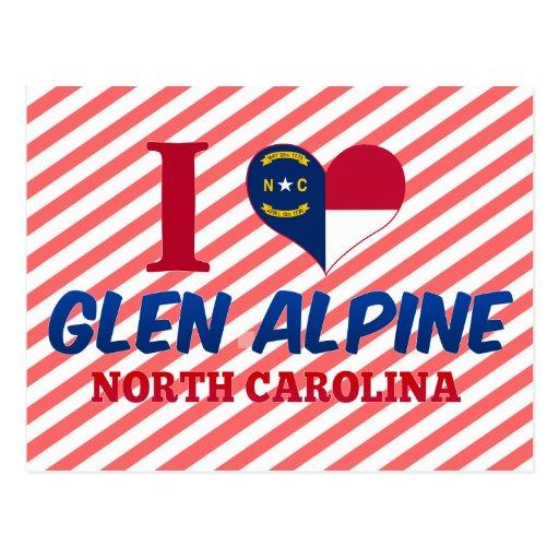 Glen Alpine, North Carolina Postcard