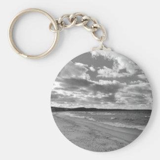 Glen Arbor, Michigan Beach Basic Round Button Keychain