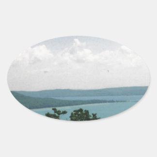 glen arbor oval sticker