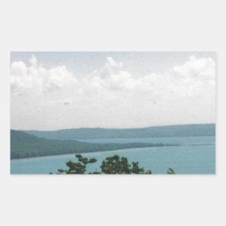 glen arbor rectangular sticker