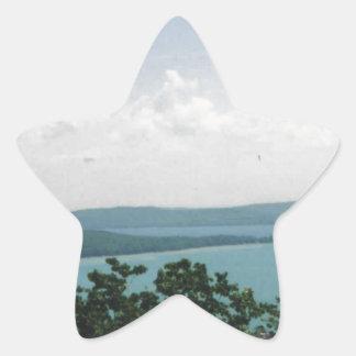 glen arbor star sticker