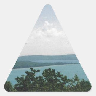 glen arbor triangle sticker