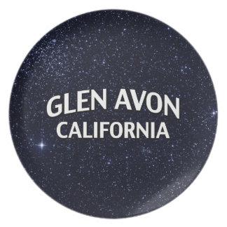 Glen Avon California Dinner Plate