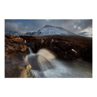 Glen Brittle. Fairy Pool. Poster