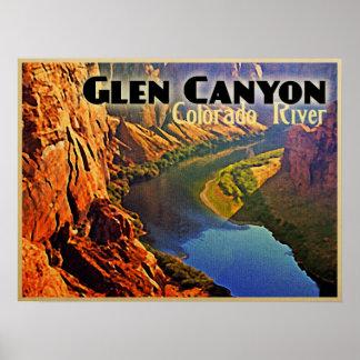 Glen Canyon Arizona Utah Poster