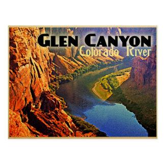 Glen Canyon Arizona Utah Tarjeta Postal