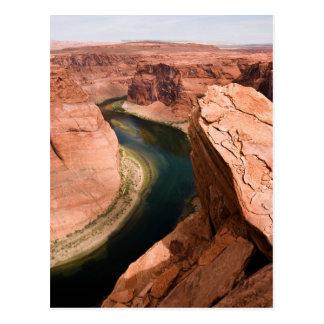 Glen Canyon - curva de herradura Tarjetas Postales