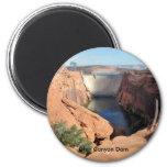 Glen Canyon Dam 2 Inch Round Magnet
