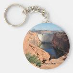 Glen Canyon Dam Basic Round Button Keychain