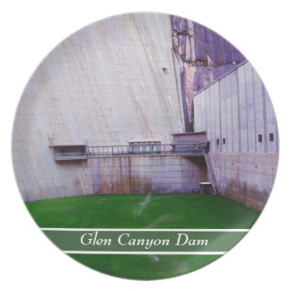 Glen Canyon Dam Dinner Plate