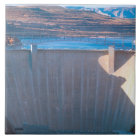 Glen Canyon Dam on the Colorado River at Page, Ceramic Tile